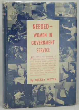 Needed -- Women in Government Service
