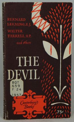 The Devil. Bernard Leeming, Walter Farrell, Mgr. F. M. Catherinet, Charles Moeller, Intro