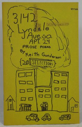 3142 Lyndale Ave. SO. Apt. 24: Prose Poems. Keith Gunderson