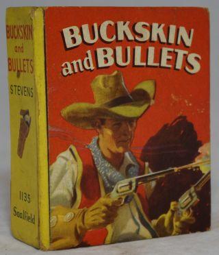 Buckskin and Bullets: A Kid Wolf Story. Ward M. Stevens, Luther Hittle, Illust