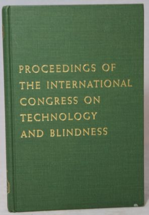 Proceedings of the International Congress on Technology and Blindness, Volume II, Panel II:...