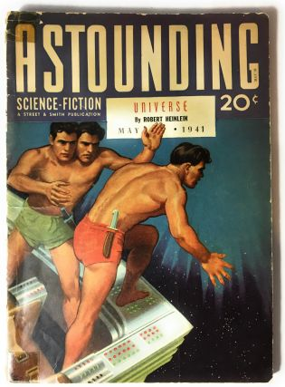 Astounding Science Fiction, Vol. XXVII No. 3, May 1941. Robert Heinlein, Anson MacDonald, Isaac...