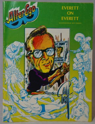 Alter Ego #11, June 1978. Mike Friedrich, Roy Thomas