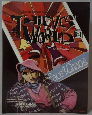 Thieves' World Graphics Number 2. Robert Asprin, Lynn Abbey, Tim Sale, Illust.