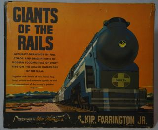 Giants of the Rails. S. Kip Farrington Jr., Glen Thomas, Illust