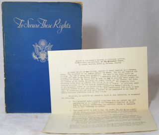To Secure These Rights: The Report of the President's Committee on Civil Rights