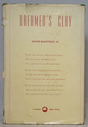 Dreamer's Clay. Walter Blackstock Jr