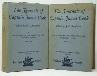The Journals of Captain James Cook, Volume III: The Voyage of the Resolution and Discovery, 1776-1780, Part One and Part Two [Two Volume Set]. James Cook, J. C. Beaglehole.