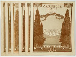 1926 Carnegie Hall Programs: Song Recital by Mme. Maria Kurenko on January 16th; Oratorio Society...