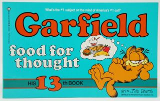 Garfield Food for Thought. Jim Davis.