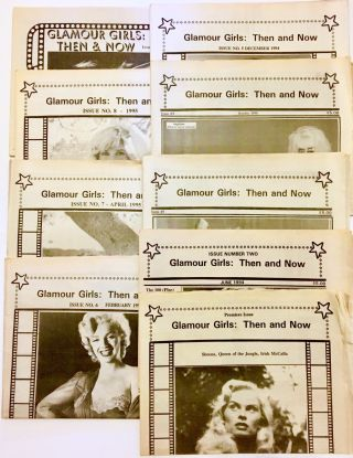 Glamour Girls: Then and Now, Issues 1-9 [Nine Issue Set]. Steve Sullivan