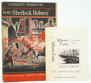 """In Re: Sherlock Holmes"": The Adventures of Solar Pons. August Derleth, Vincent Starrett, Intro."