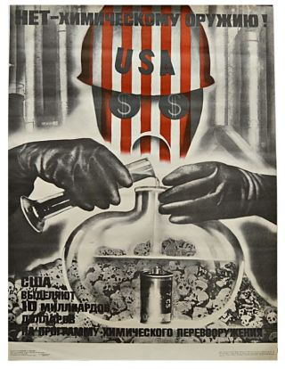 No To Chemical Weapons [Soviet Propaganda]