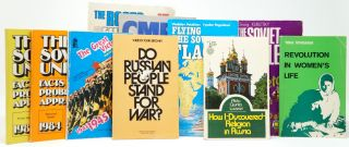 "Cold War Era Soviet Publicity Booklets]: Flying the Soviet Flag; How I ""Discovered"" Religion in..."