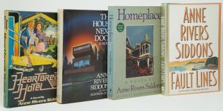 Heartbreak Hotel, The House Next Door, Homeplace, [and] Fault Lines [Four Signed Books by Anne...