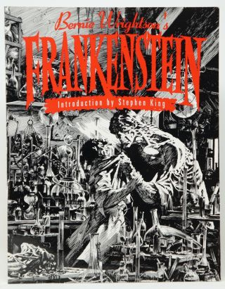 Bernie Wrightson's Frankenstein or The Modern Prometheus by Mary Wollstonecraft Shelley