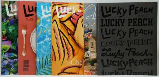 Lucky Peach: A Quarterly Journal of Food and Writing, Issues No. 19, 20, 21, 22, 23, [and] 24/25 [6 Issue Set]. Peter Meehan.