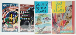 Pink Vodka Blues, Dead Dog Blues, Skinny Annie Blues, Bad Eye Blues [Four First Editions]. Neal...