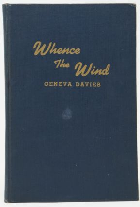 Whence the Wind (VerseCraft Series). Geneva Davies