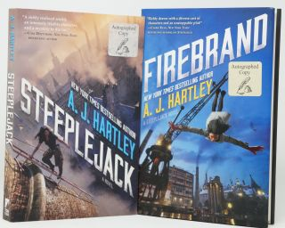 Steeplejack and Firebrand. A. J. Hartley