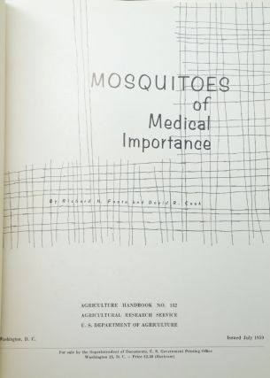 Mosquitoes of Medical Importance (Agriculture Handbook No. 152)