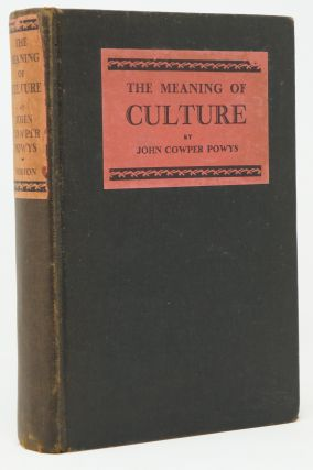 The Meaning of Culture. John Cowper Powys, Ex Libris Lyford Paterson Edwards