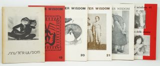 [Feminist Lesbianism] Sinister Wisdom, 6 Issues: Issue 3, Spring 1977; Issue 19, Winter 1982;...