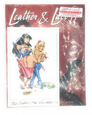 Leather & Lace Volume Two: A Gallery Girls Collection with Limited Signed Plate. Steve Fastner, Rich Larson.