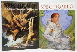 6 Volumes of Spectrum: The Best in Contemporary Fantastic Art 2, 3, 5, 7, 15, and 16