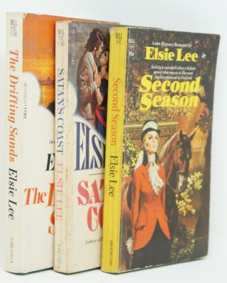 3 Books by Elsie Lee: Elsie Lee's The Drifting Sands, Satan's Coast, and Second Season