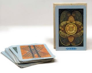 Thoth Tarot Cards, White Box A1 with Caliph Card