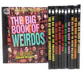 Factoid Books' The Big Book of... Set of 11 Books: The Big Book of Weirdos, Conspiracies,...