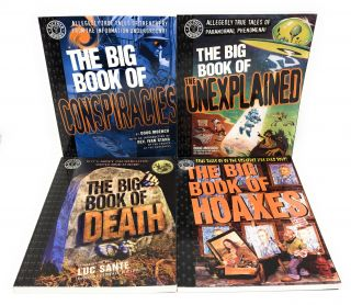 Factoid Books' The Big Book of... Set of 11 Books: The Big Book of Weirdos, Conspiracies, Unexplained, Death, Hoaxes, Bad, Vice, Thugs, Weird Wild West, Urban Legends, Loses [11 Books]