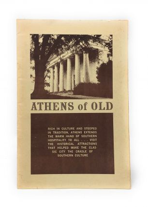 Athens of Old [Athens, Georgia Tourist Guide