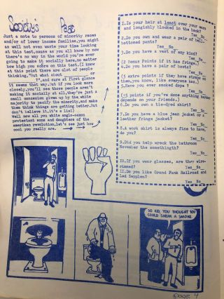 [Lawrence, Kansas Radical Student Newspaper, Seven Issues] Freed Speak, Issues 1 and 2, Students Free Press, Vol. 1, Issues 1-4