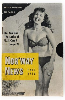 Nor'Way News Fall 1950 Issue [Vintage Ads]