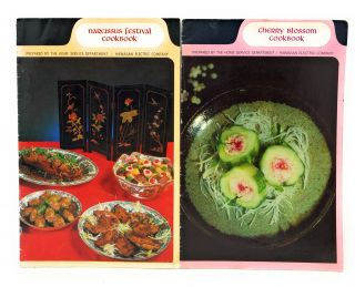 Narcissus Festival Cookbook and Cherry Blossom Cookbook