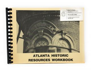 Atlanta Historic Resources Workbook