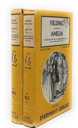 Amelia, Complete in Two Volumes [Everyman's Library]. Henry Fielding, A. R. Humphreys, Intro