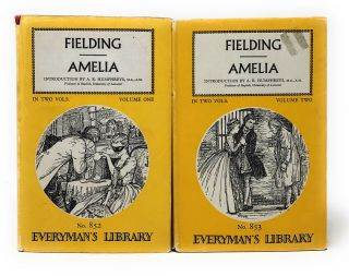 Amelia, Complete in Two Volumes [Everyman's Library]
