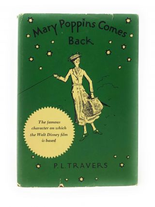 Mary Poppins Comes Back. P. L. Travers, Mary Shepard, Illust