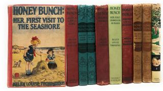 10 Vintage Honey Bunch Books] Honey Bunch: Just a Little Girl, Her First Visit to the Seashore,...