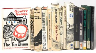 Fourteen Books By and About Gunter Grass, including The Danzig Trilogy: The Tin Drum, Cat and...