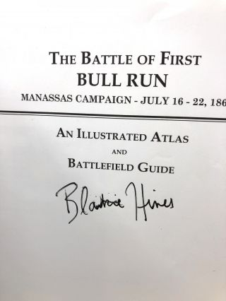 The Battle of First Bull Run, Manassas Campaign, July 16-22, 1861: An Illustrated Atlas and Battle Guide