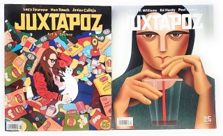JUXTAPOZ: Art & Culture (Issue 209, Spring 2019) and JUXTAPOZ (Issue 210, Summer 2019) [Two...