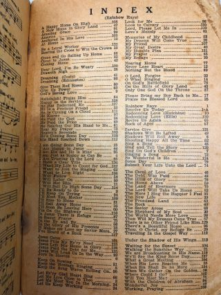 [Shape Notes] Rainbow Rays: Our First 1946 Book for Singing Schools, Conventions, Etc.