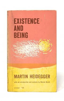 Existence and Being. Martin Heidegger, Werner Brock, Intro