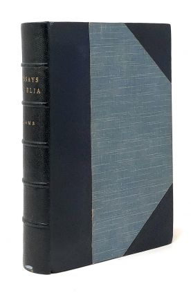 The Essays of Elia. Charles Lamb, Alfred Ainger, Douglas and Foulis, Douglas, Foulis, Intro.,...