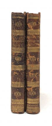 Paradise Lost; A Poem: In Twelve Books, Vol. I [and] Paradise Regain'd; A Poem: In Four Books. To Which is Added, Samson Agonistes [Two Volumes out of a Three Volume Set]