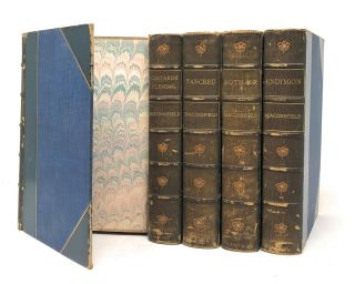 [Morrell Bindings, 5 Vol. Set] Novels and Tales by the Earl of Beaconsfield: Vivian Grey, Contarini Fleming, Tancred, Lothair, [and] Endymion [Five Volume Set]